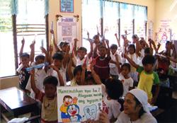 フィリピン医療ボランティアのイメージ